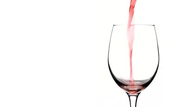 sklenice vína close-up
