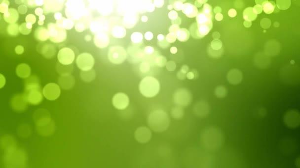 schöner grüner Hintergrund mit Lichtüberlauf
