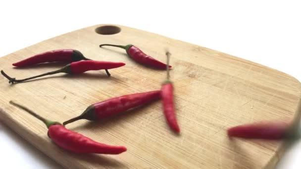červené chilli pepper closeup