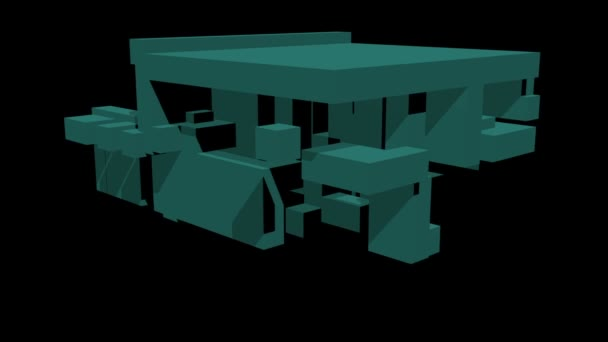 Shape morphing - dynamické voxely 3d vizualizace