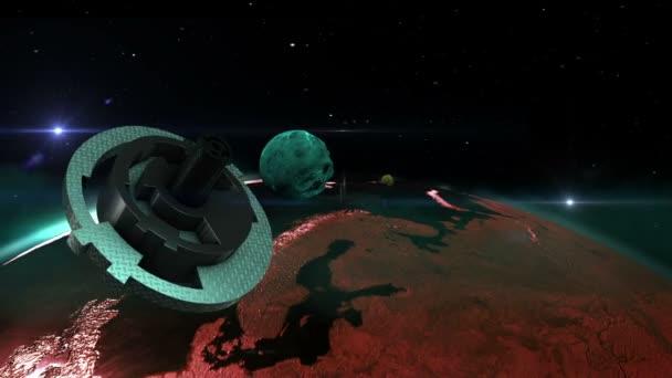 UFO, Nebula a planety ve vesmíru