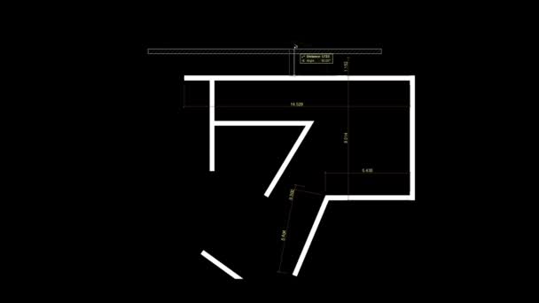 abstract architecture background: house plan