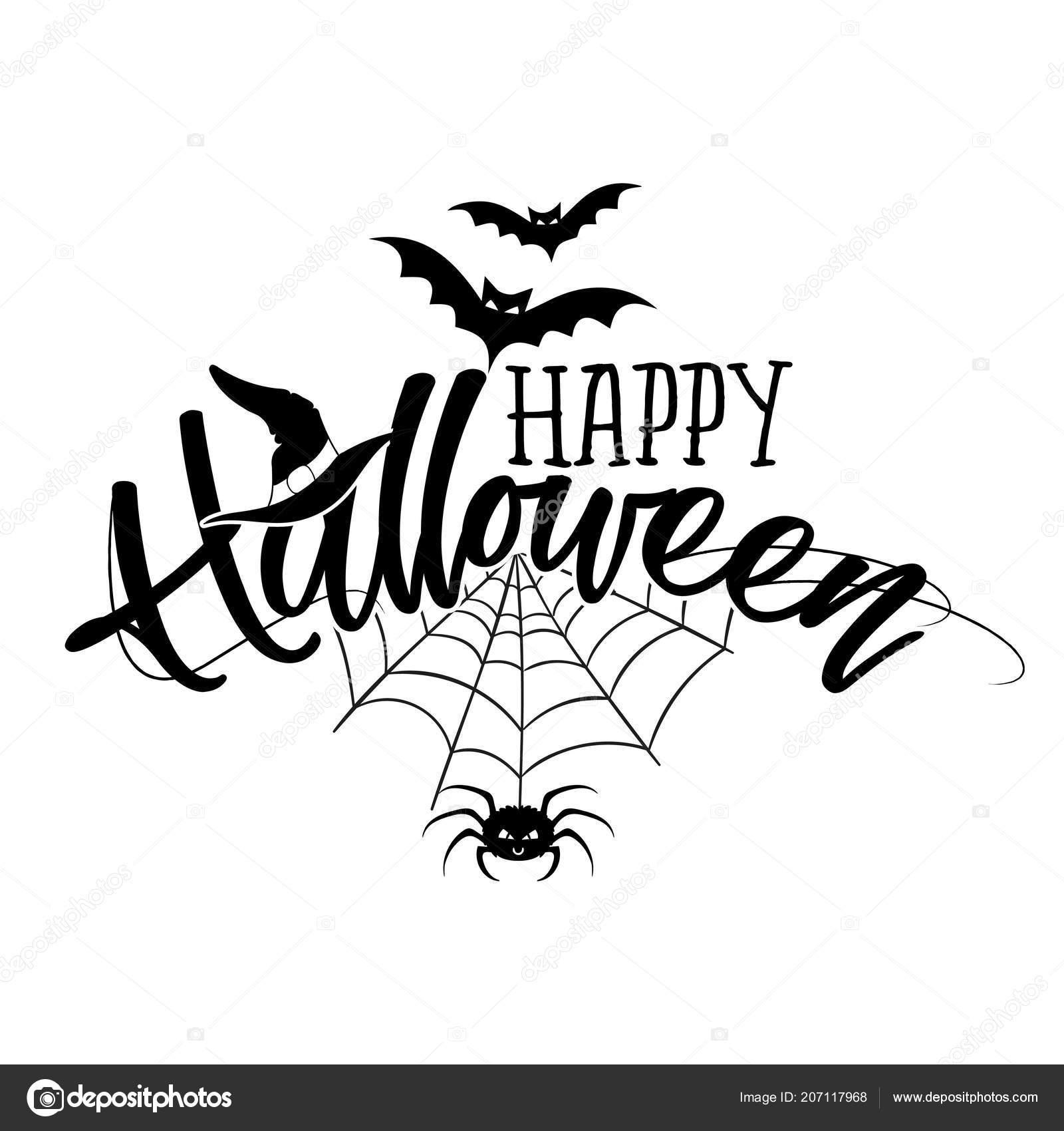 Halloween Quote.Happy Halloween Halloween Quote White Background Good Shirt