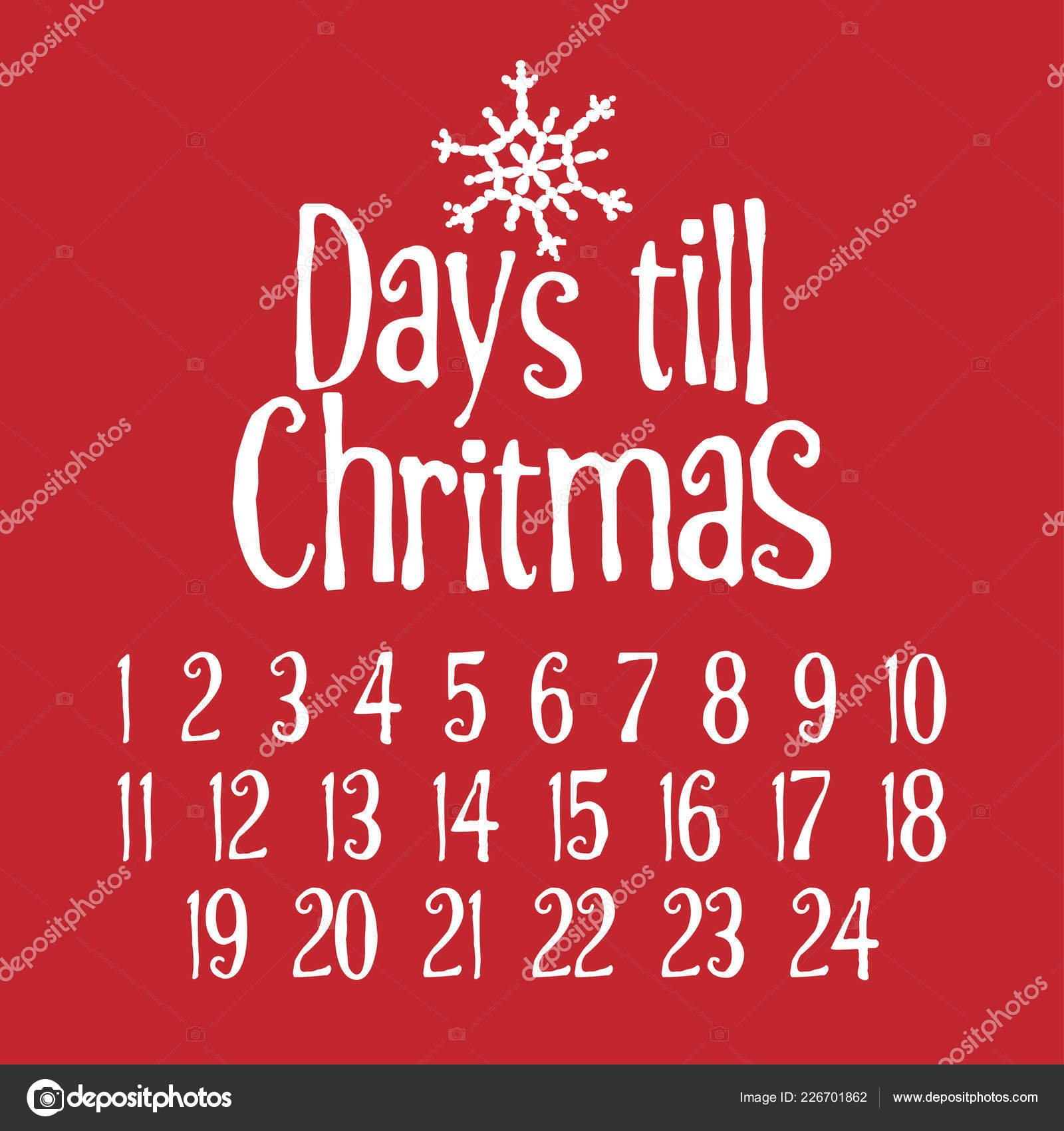 How Long Until Christmas.How Days Till Christmas