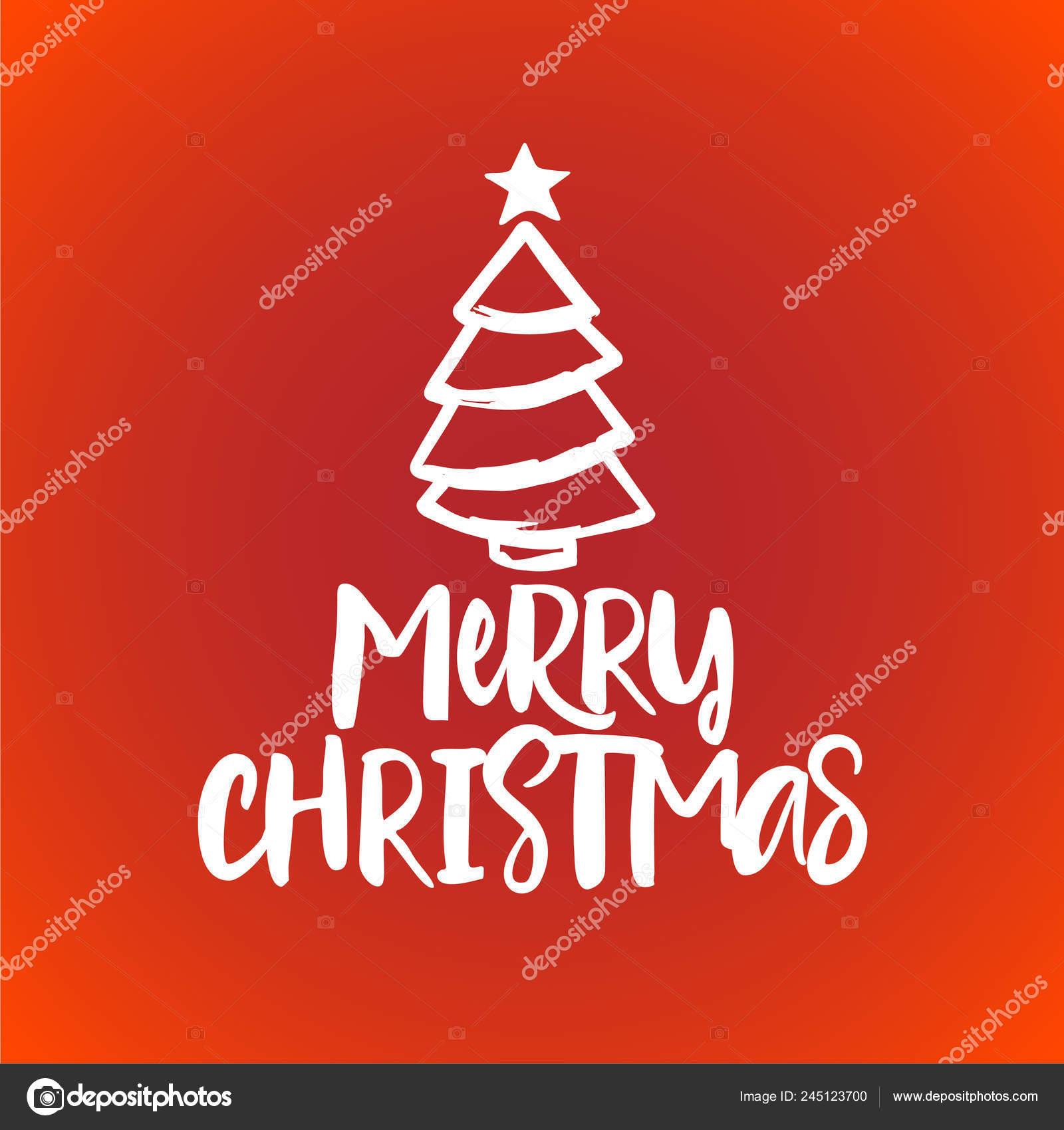 Frasi Di Natale X Biglietti.Buon Natale Frase Calligrafia Natale Disegnato Mano Dell Iscrizione
