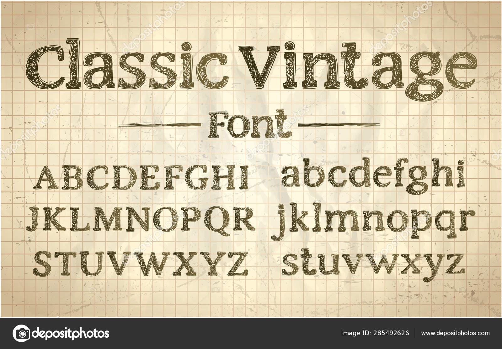 Vintage Typography Fonts