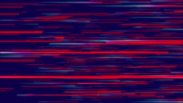 Blue Red Abstract Radial Lines Geometric Background Data Flow Explosion Star Optical Fiber Motion Effect Background