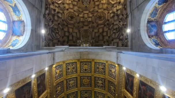 Im Inneren der Basilika von Salvador, im Zentrum der Altstadt von Salvadore, Bahia, Brasilien