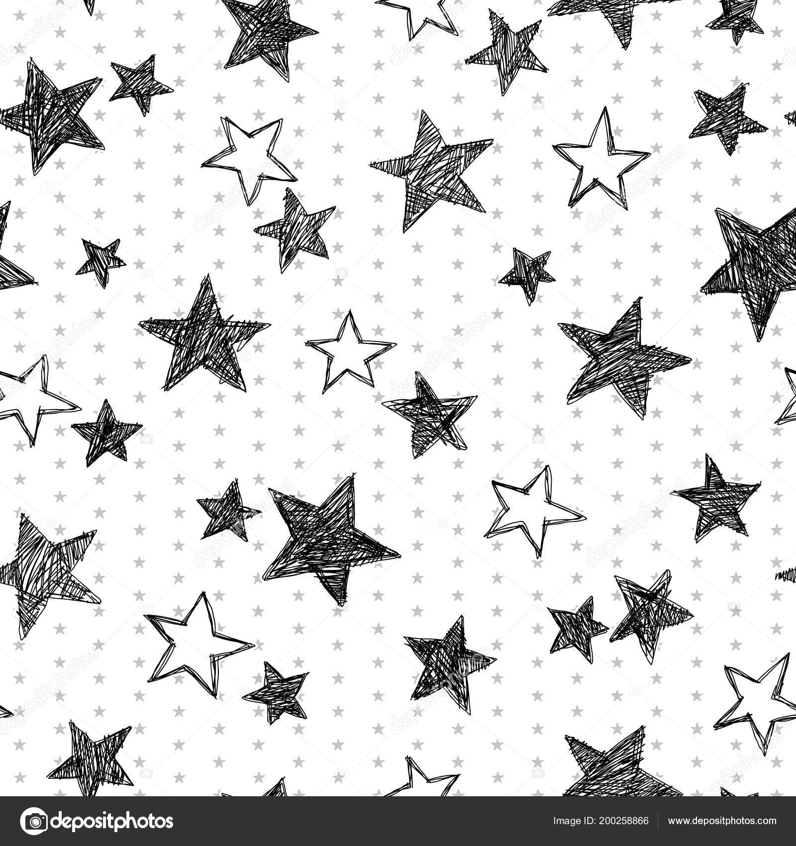 die stern muster die zusammengebrochen machte ich eine verzerrte sterne stockvektor - Stern Muster