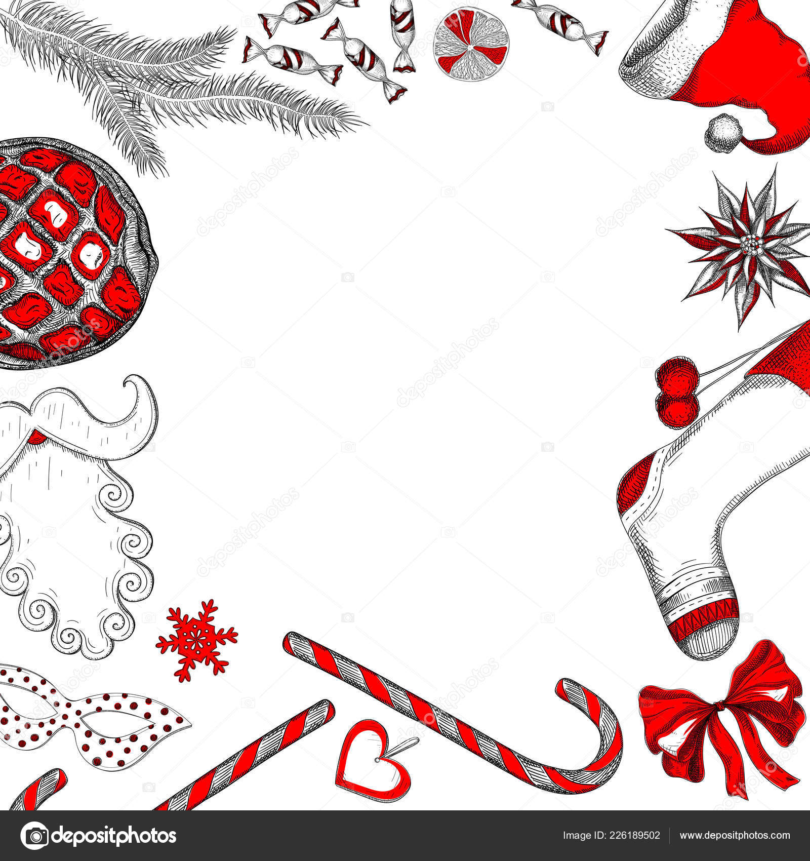 white new year background with red christmas decoration vector paper illustration vector by svetlaboro