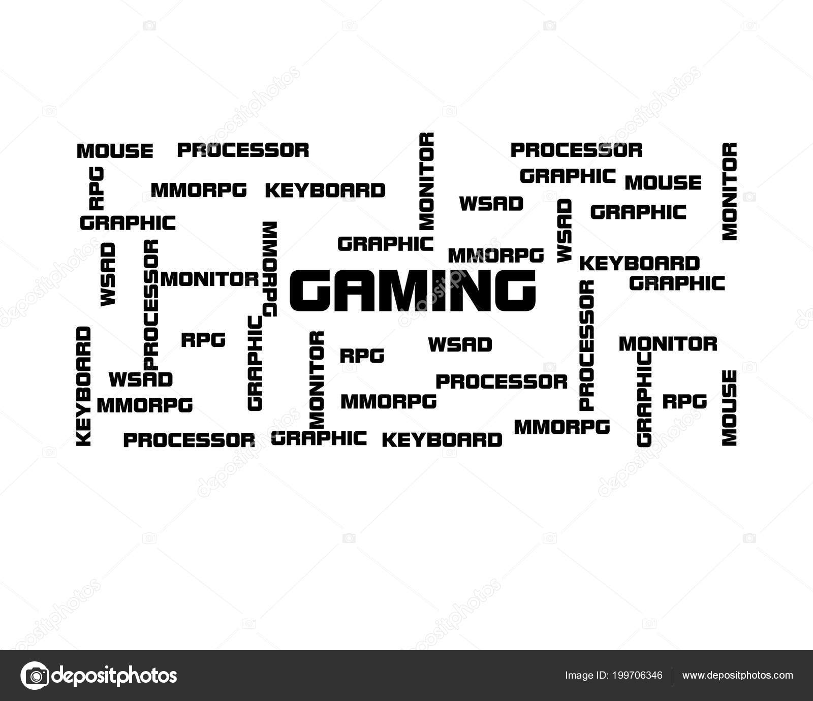 All You Need Gaming Wallpaper Background Stock Photo C Xmelichar