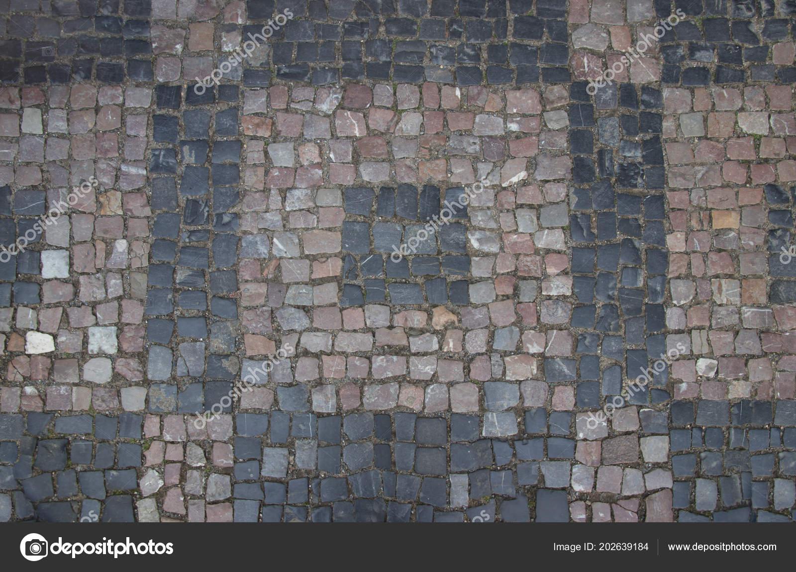 Pavimentazione ponti con mattonelle del granito varie figure