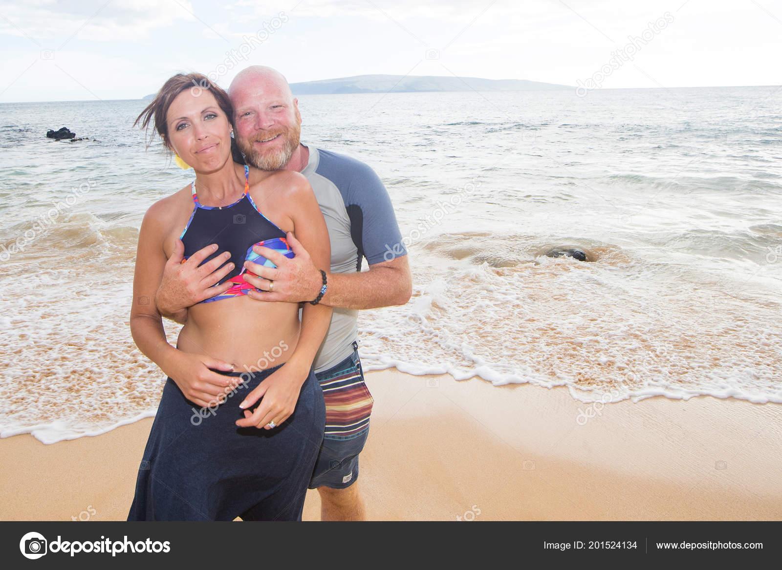 Boobs At The Beach