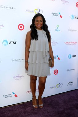 Laila Ali at the 20th Annual DesignCare Gala, Private Estate, Malibu, CA 07-14-18