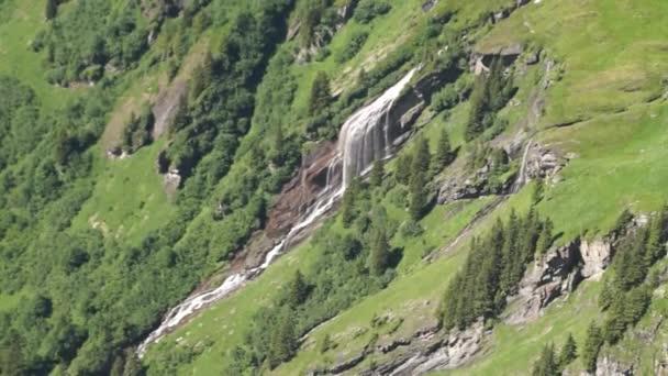 Alpské vrcholy krajinné pozadí. Jungfrau, Bernese highland. Alpy, Turistika, cesty a dobrodružné turistiky konceptu