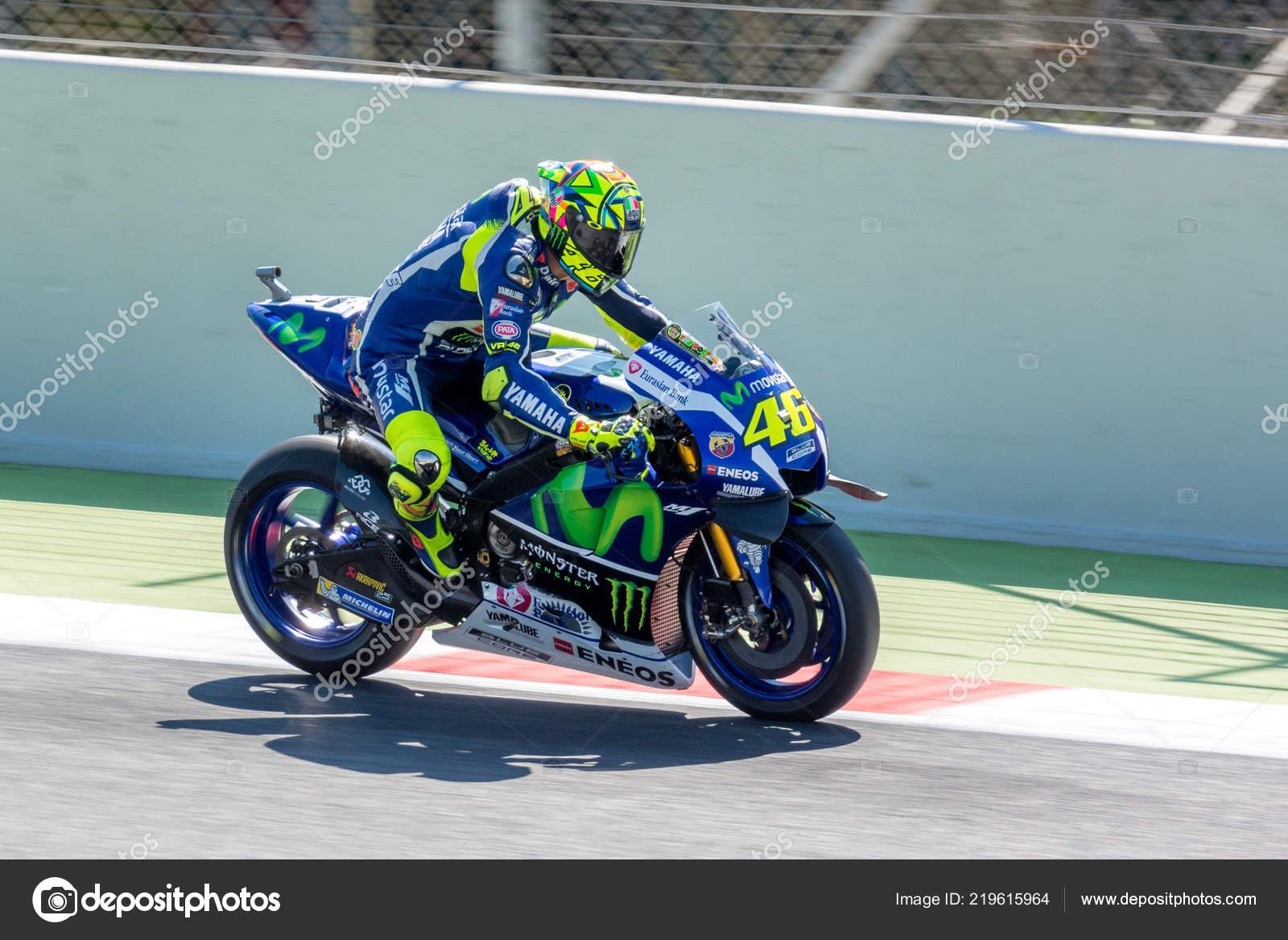 Barcelona Spain June Valentino Rossi 2016 Monster Energy Motogp