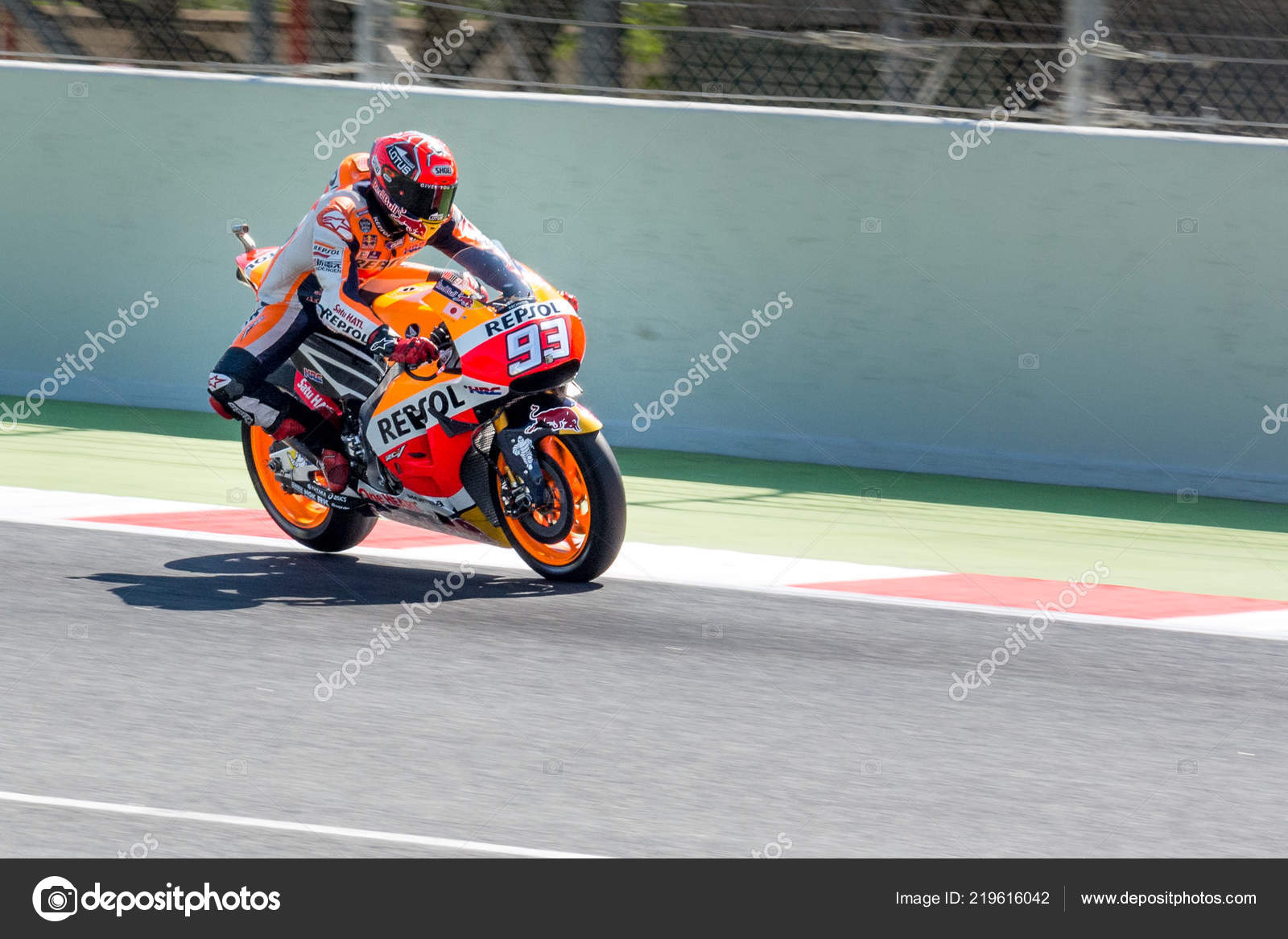 773101949e6bf BARCELONA - SPAIN, JUNE 3: Valentino Rossi at 2016 Monster Energy MotoGP of  Catalunya at Barcelona circuit on June 3, 2016– Stock Editorial Photography