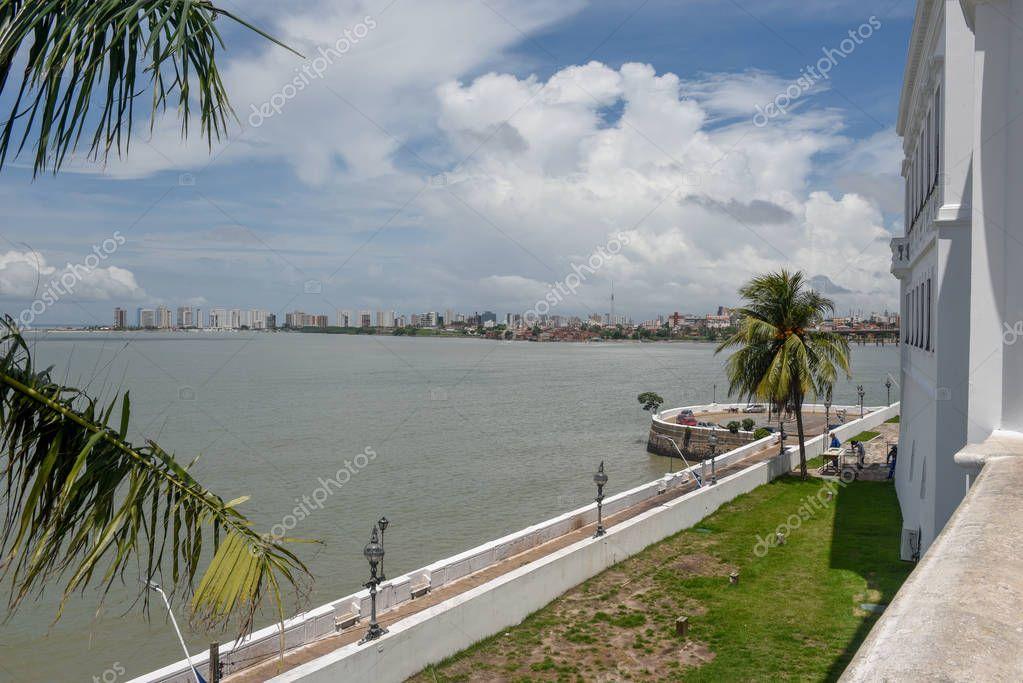 The coast at Sao Luis in Brazil