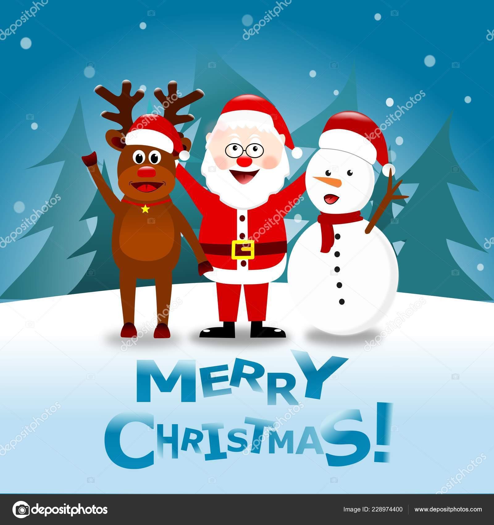 14+ Christmas Santa Reindeer