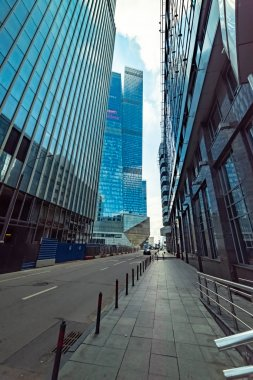 City the Moscow .Moscow international business center Moscow-city. EYE- United by the Crystal Base..Russia.2019
