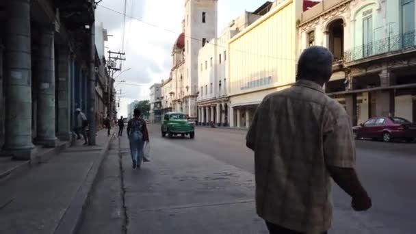 TRINIDAD, CUBA - MARCH 2019: Street scenic view at dusk of the s
