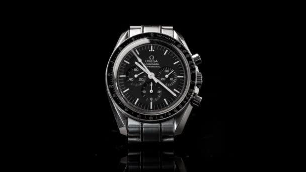 Omega Speedmaster Professional watch, close up