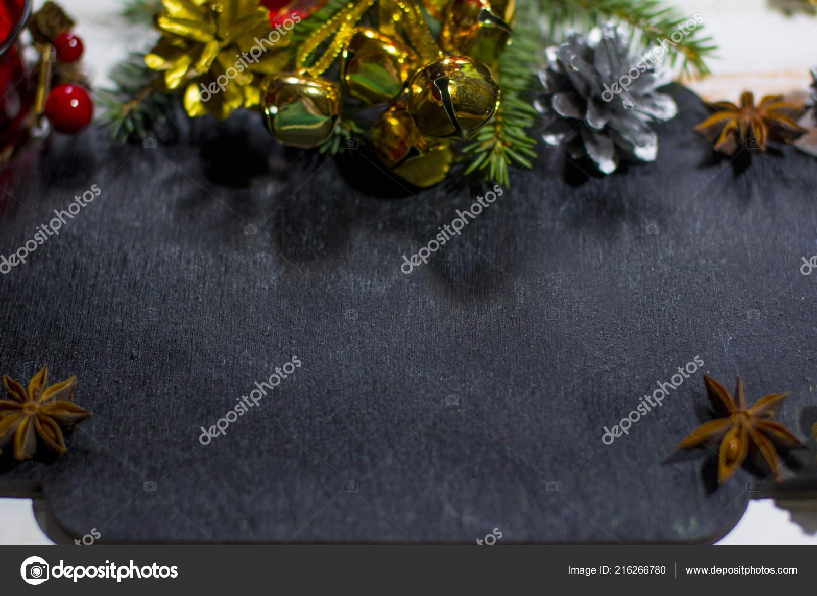 Christmas Board Design.Christmas Black Chalk Board New Year 2019 Christmas Design
