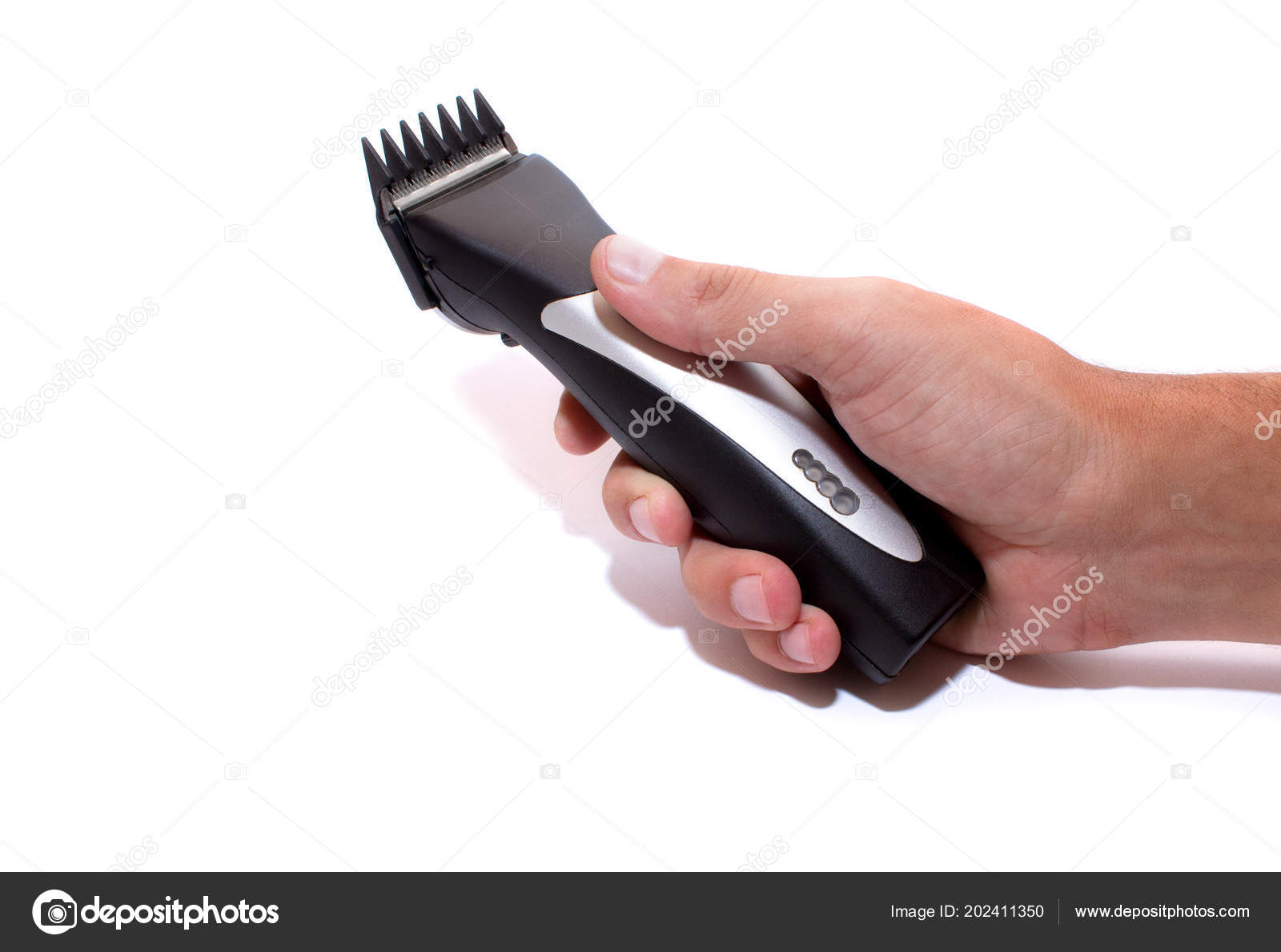 une machine coiffure salon coiffure tondeuse main isol sur fond photographie ekaplinskiy. Black Bedroom Furniture Sets. Home Design Ideas