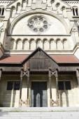 Fotografie St. Francis of Assisi Church (aka Mexico Church). Basilica-style Catholic church in Vienna, Austria. Built between 1898 and 1910.