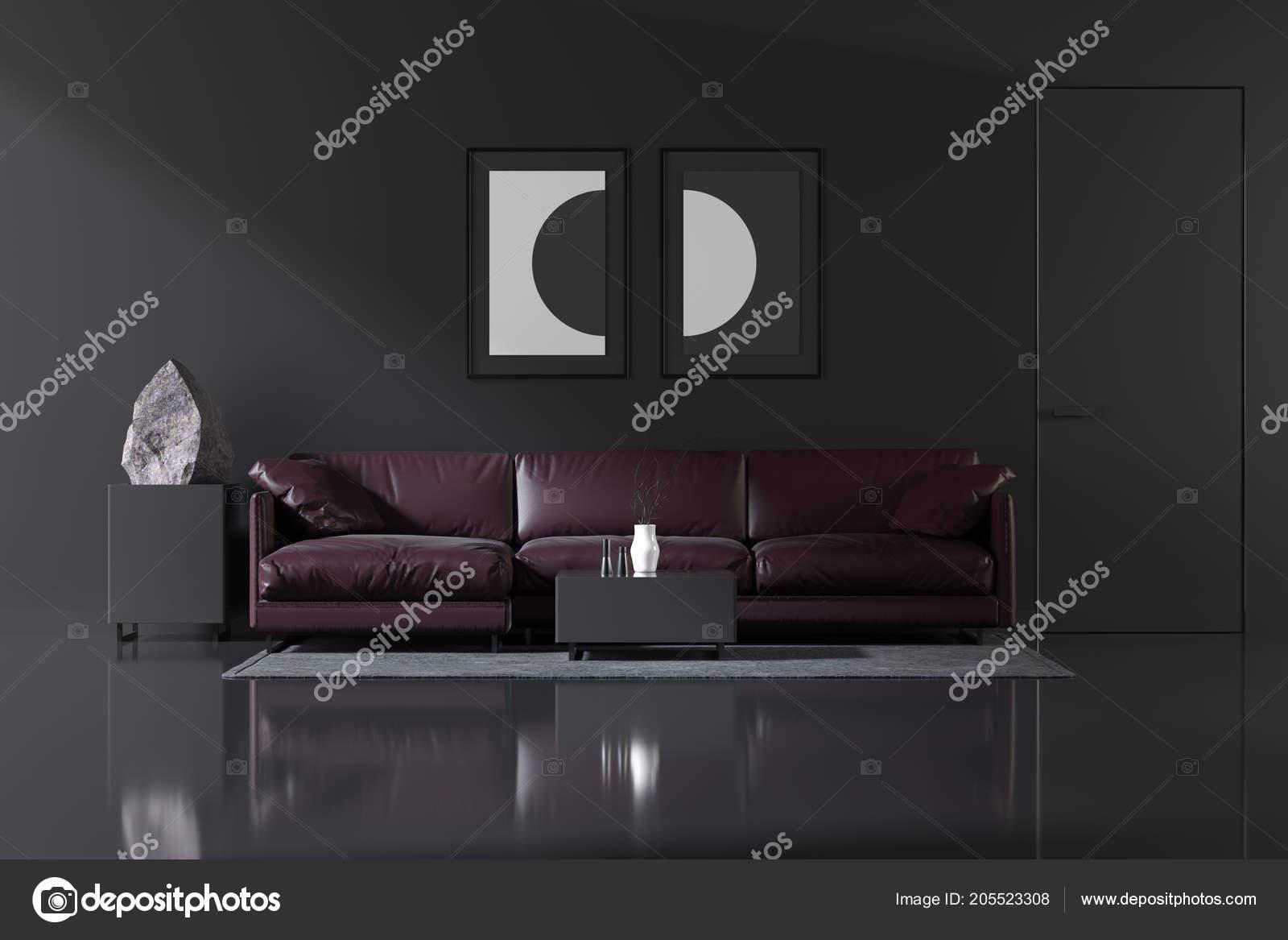 Steen In Interieur : Interieur een eenvoudige stijl met een steen het interieur