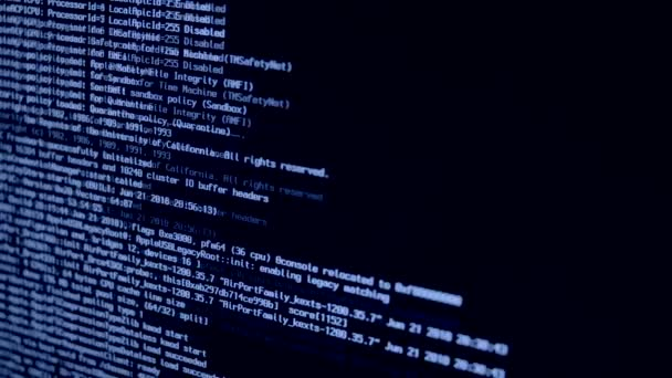 System Loading Process Begin BLUE