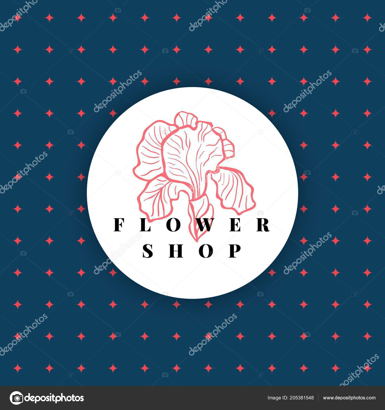 Logo for a flower shop icon of iris flower can be used for flower logo for a flower shop icon of iris flower can be used for flower store izmirmasajfo