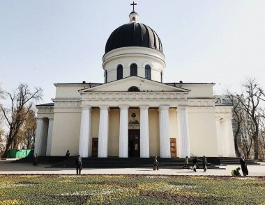 Cathedral of Nativity of Christ in Great National Assembly Square, Chisinau, Moldova