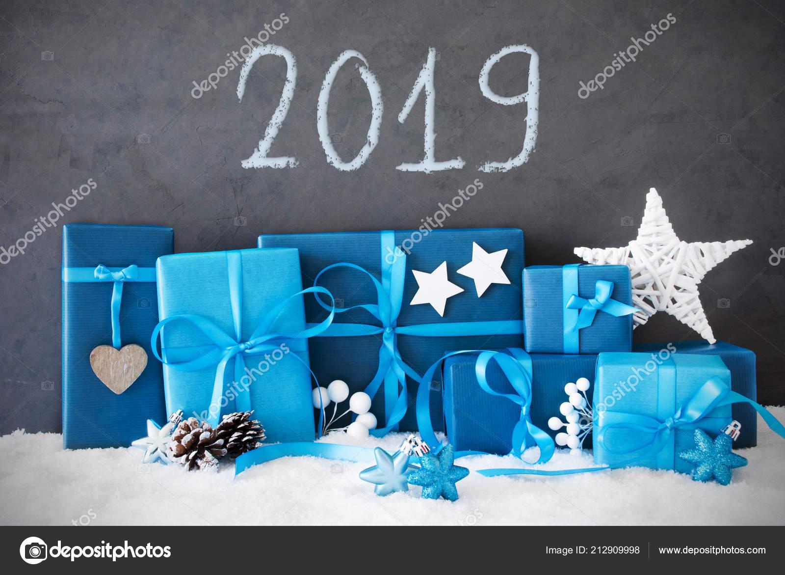 Regali Di Natale Inglese.Molti Blu Regali Di Natale Neve Inglese Testo 2019 Foto
