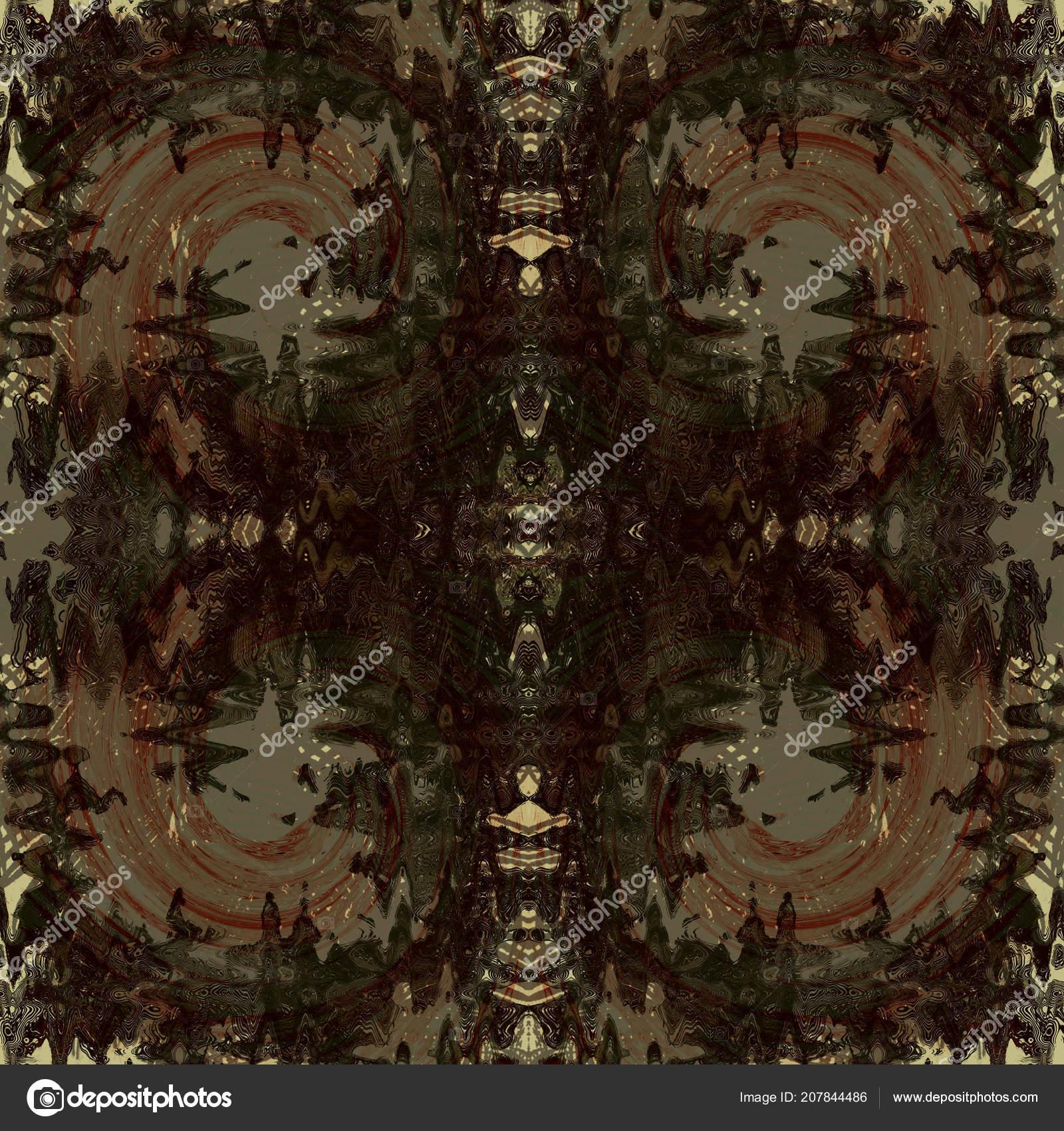 カラフルなシームレスなグランジ パターン 抽象的な乱雑な塗装の