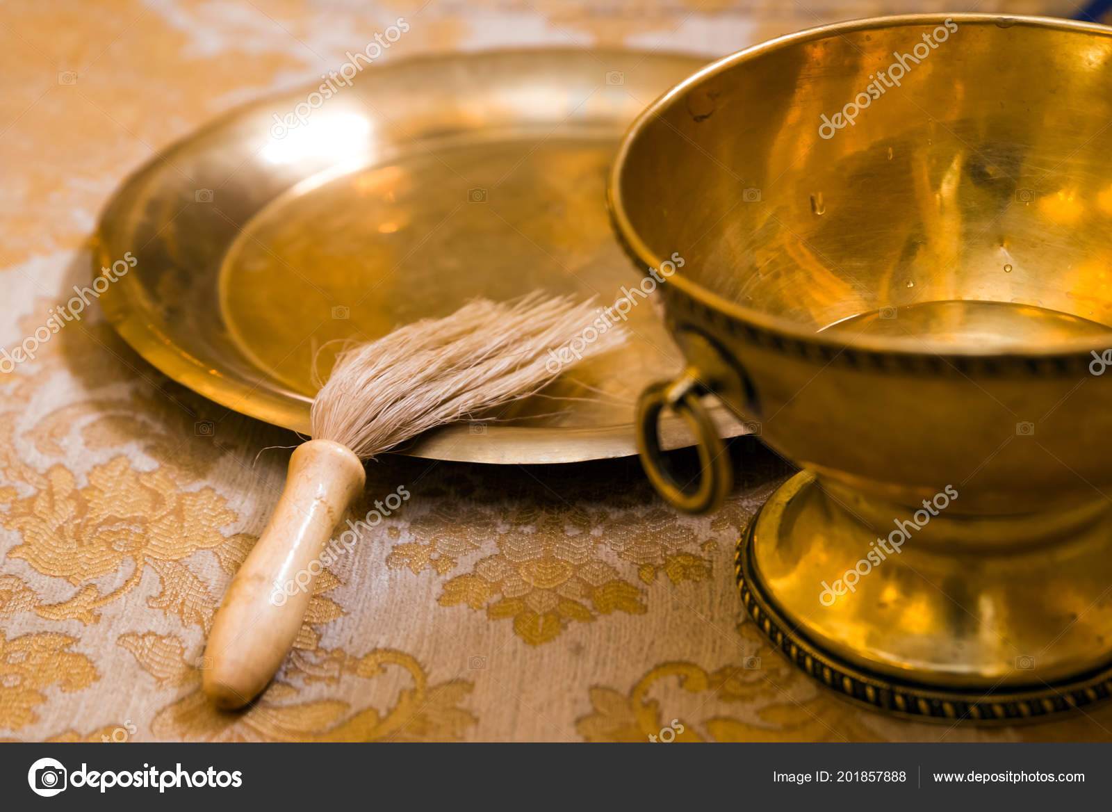Church Supplies Baptism Christian Church — Stock Photo
