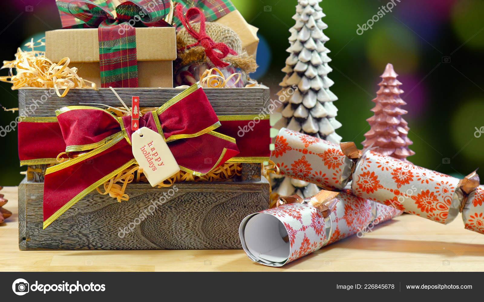 Regali Di Natale Inglese.Grande Stile Inglese Tradizionale Natale Ricolmo Carta