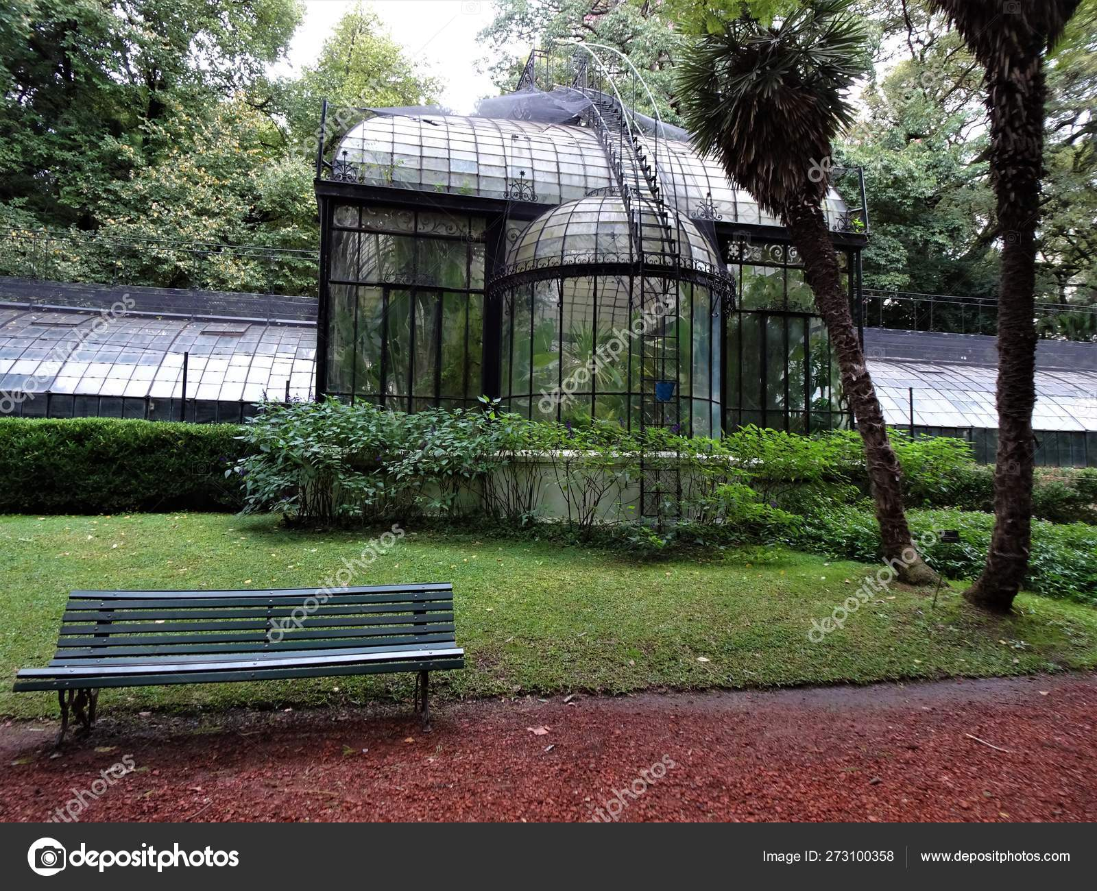 Beautiful Botanical Garden Buenos Aires Stock Photo Image By C Chrisredfield13 273100358