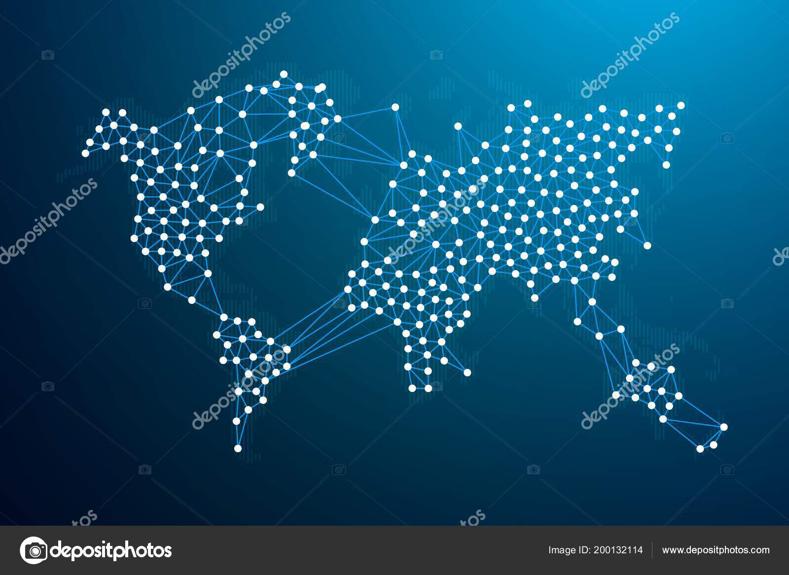 World map network blockchain network concept vector illustration world map network blockchain network concept vector illustration stock vector gumiabroncs Image collections