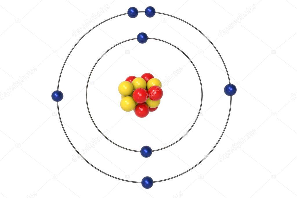 Pmages  Bohr Model Nitrogen
