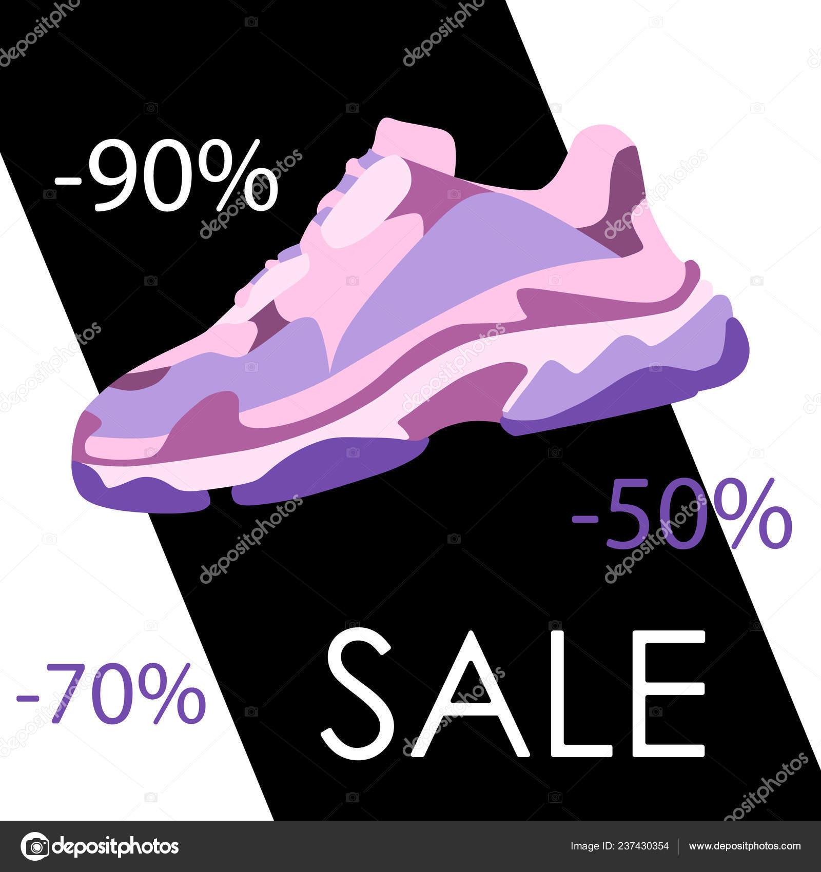 Black Friday Sneaker Shoe Sale Banner