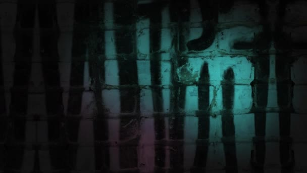Dark grunge graffiti wall background