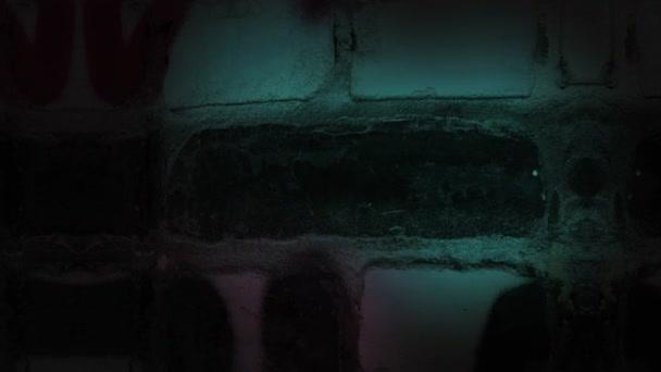 Sötét grunge graffiti fal háttér
