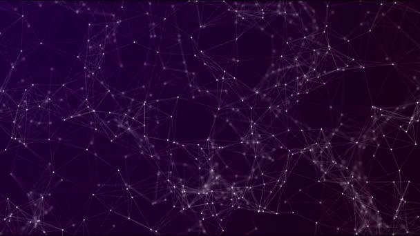 Hintergrund digitaler Technologie Datennetzwerk