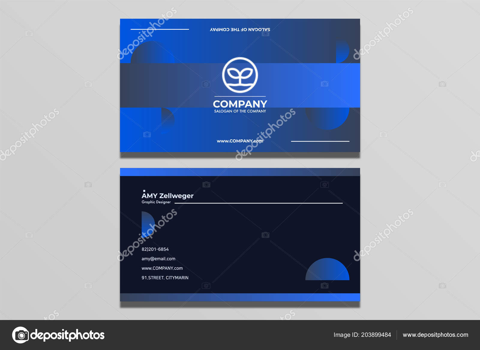 Business card design simple modern stock vector designarthole business card design simple and modern vector by designarthole reheart Choice Image