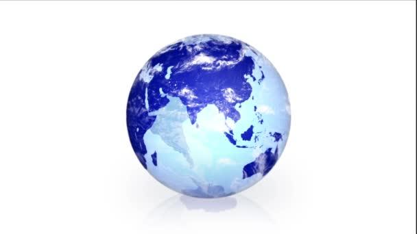 Video of Earth Vector Cloud