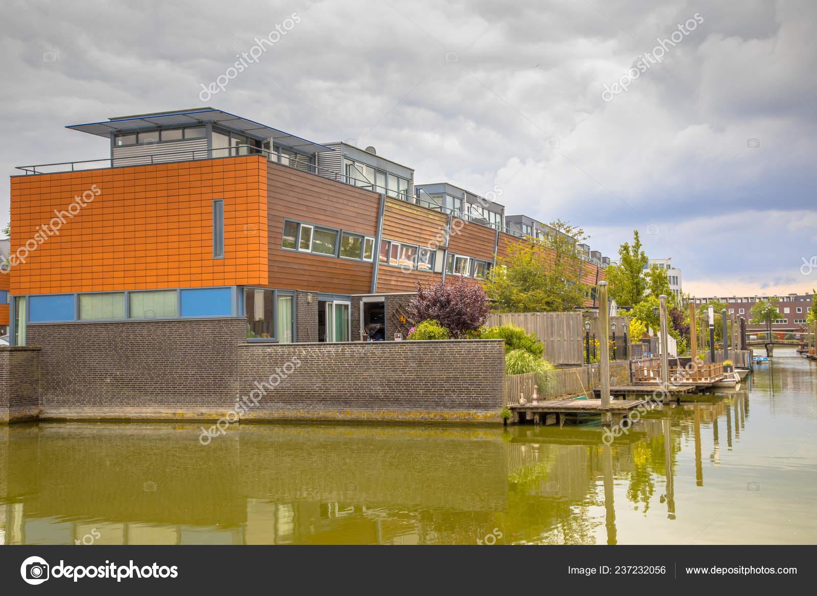 Modernas Casas Con Jardines Terraza Paseo Marítimo área