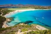 Fotografia Porto Giunco, Villasimius, Sardegna, Italia. La Sardegna è la seconda isola del Mar Mediterraneo