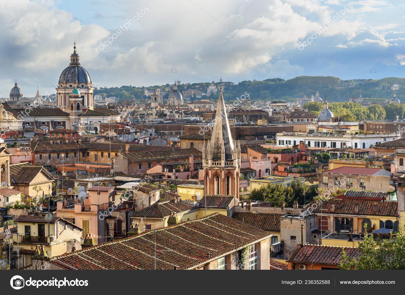 Ver Ciudad Roma Terrazza Viale Del Belvedere Italia Foto