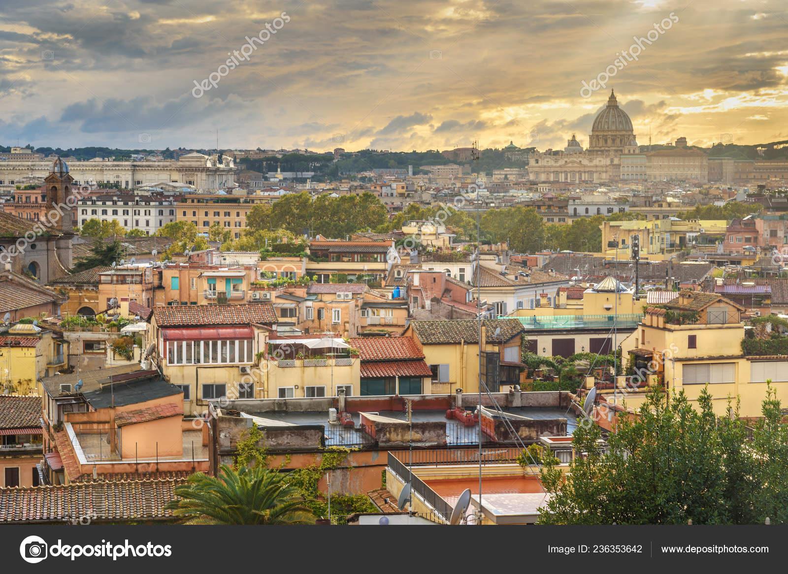 View Rome City Peter Basilica Vatican Terrazza Viale Del
